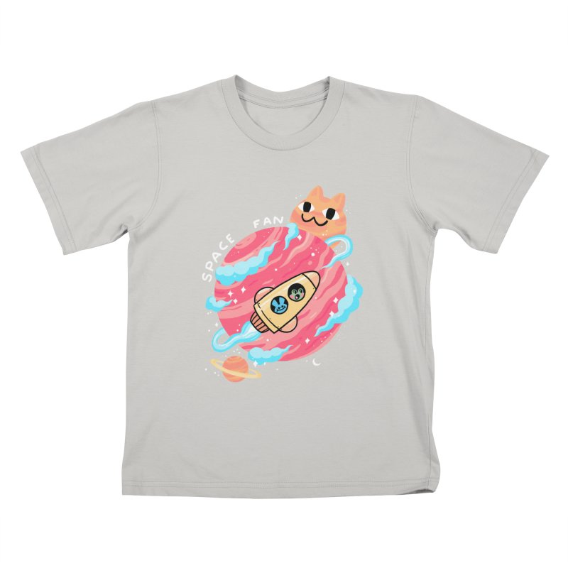 SPACE FAN Kids T-Shirt by GOOD AND NICE SHIRTS