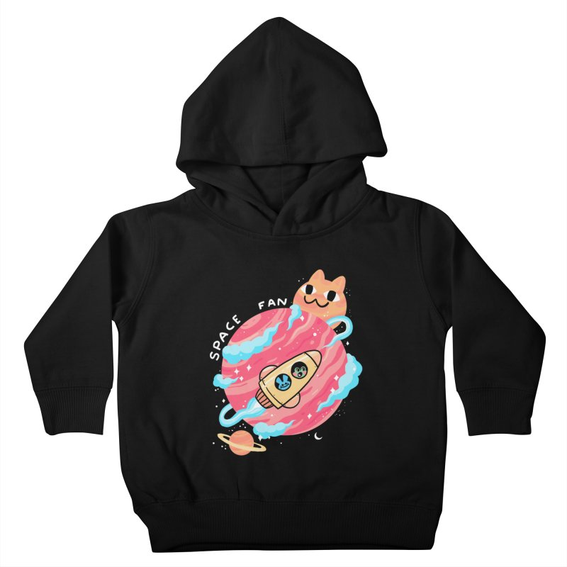 SPACE FAN Kids Toddler Pullover Hoody by GOOD AND NICE SHIRTS