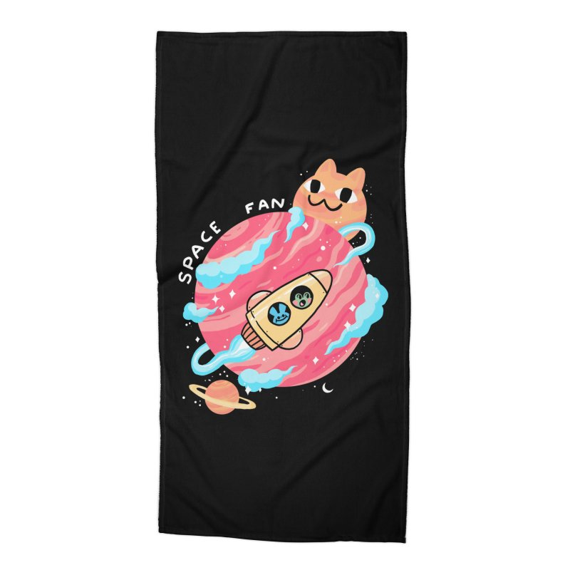 SPACE FAN Accessories Beach Towel by GOOD AND NICE SHIRTS