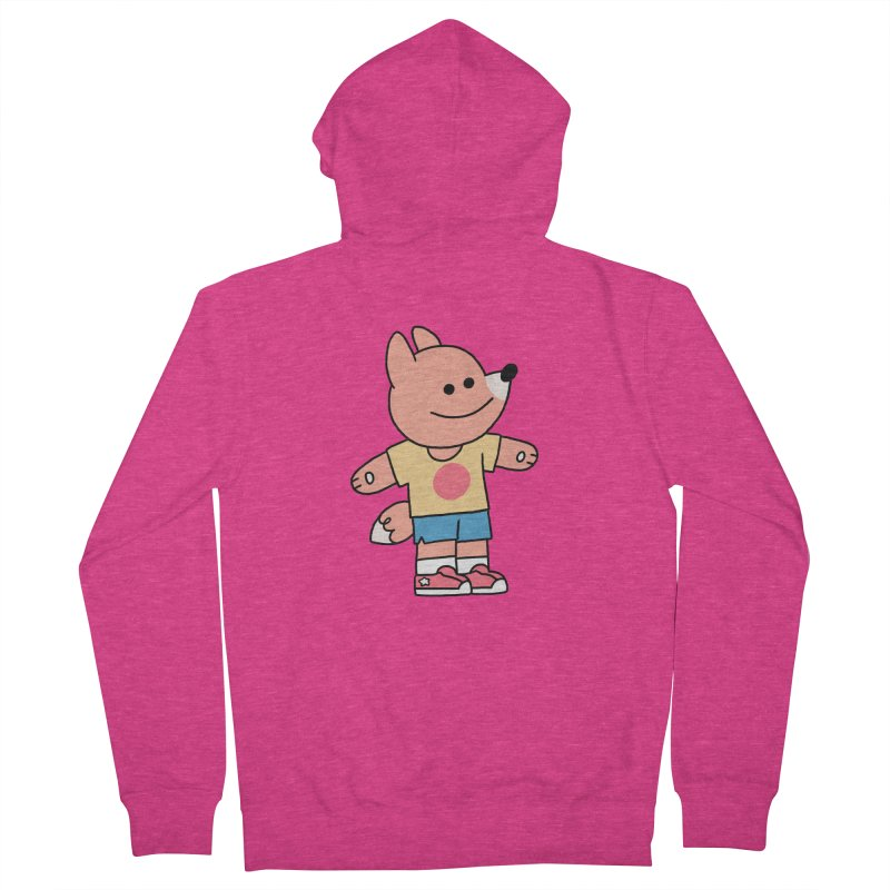 LET LIFE WASH OVER YOU Women's French Terry Zip-Up Hoody by GOOD AND NICE SHIRTS