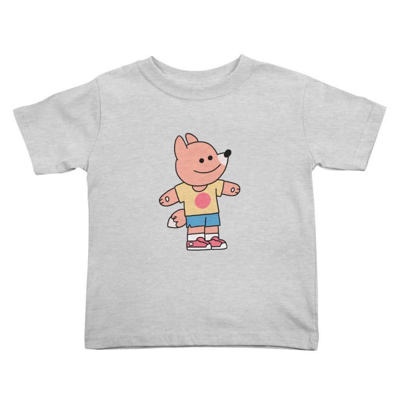 LET LIFE WASH OVER YOU Kids Toddler T-Shirt by GOOD AND NICE SHIRTS