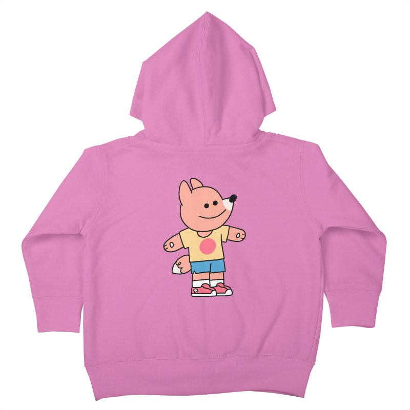 LET LIFE WASH OVER YOU Kids Toddler Zip-Up Hoody by GOOD AND NICE SHIRTS