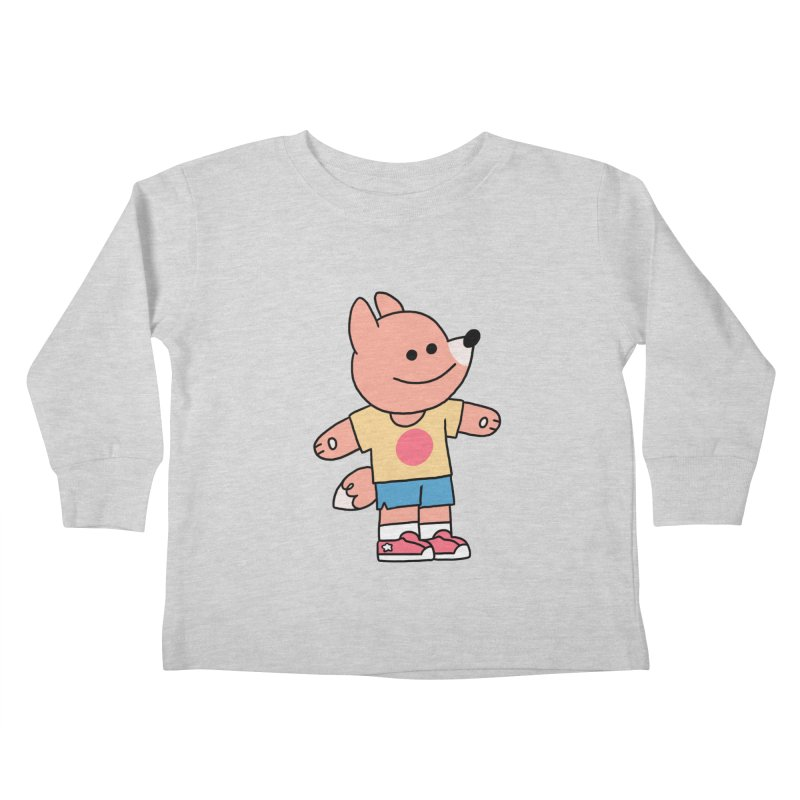 LET LIFE WASH OVER YOU Kids Toddler Longsleeve T-Shirt by GOOD AND NICE SHIRTS