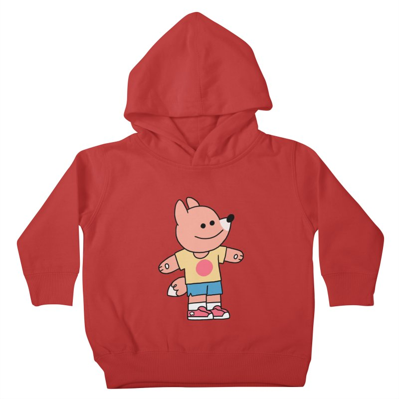 LET LIFE WASH OVER YOU Kids Toddler Pullover Hoody by GOOD AND NICE SHIRTS