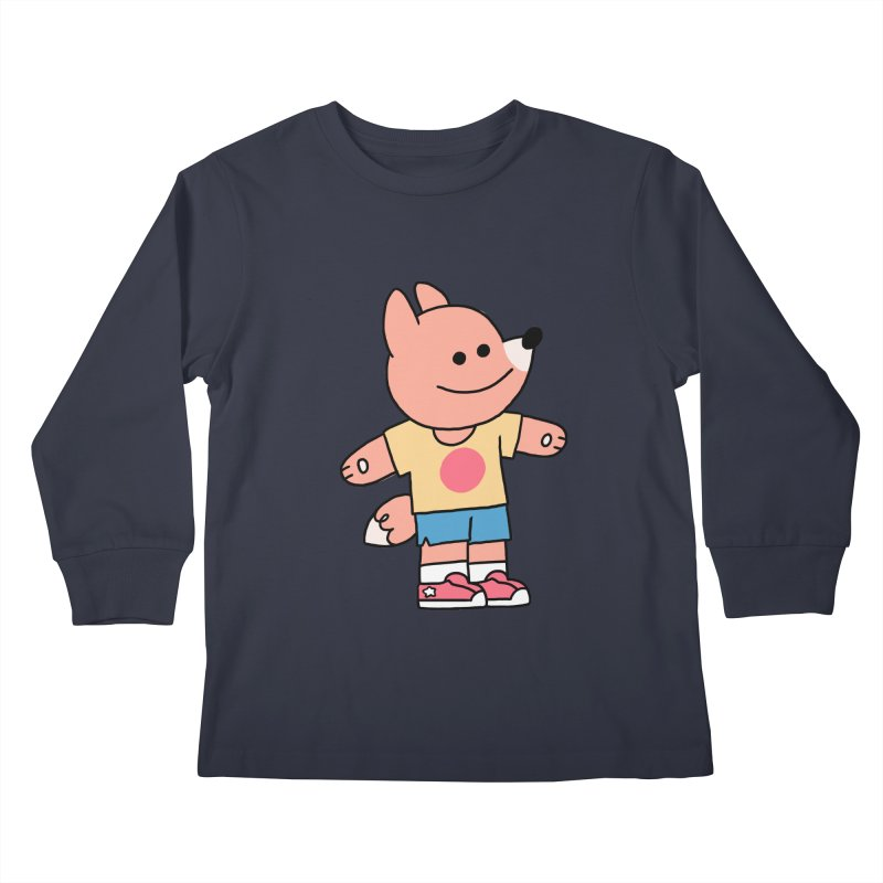 LET LIFE WASH OVER YOU Kids Longsleeve T-Shirt by GOOD AND NICE SHIRTS