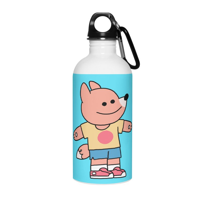 LET LIFE WASH OVER YOU Accessories Water Bottle by GOOD AND NICE SHIRTS