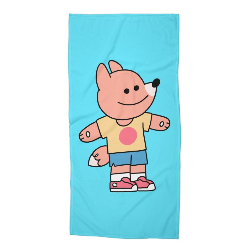 LET LIFE WASH OVER YOU Accessories Beach Towel by GOOD AND NICE SHIRTS