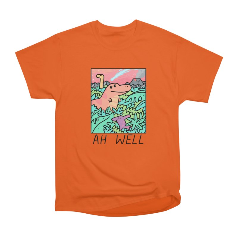 AH WELL Men's Heavyweight T-Shirt by GOOD AND NICE SHIRTS