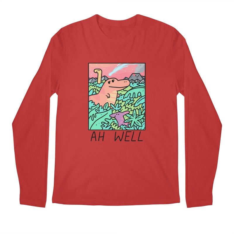 AH WELL Men's Regular Longsleeve T-Shirt by GOOD AND NICE SHIRTS
