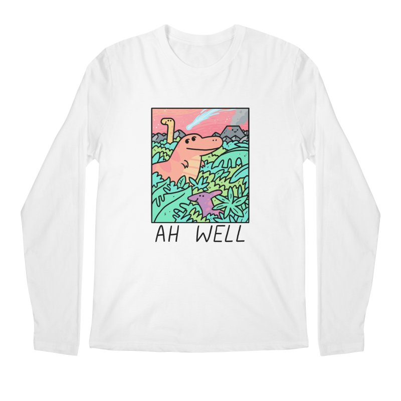 AH WELL Men's Regular Longsleeve T-Shirt by GOOD AND NICE SHIRTS