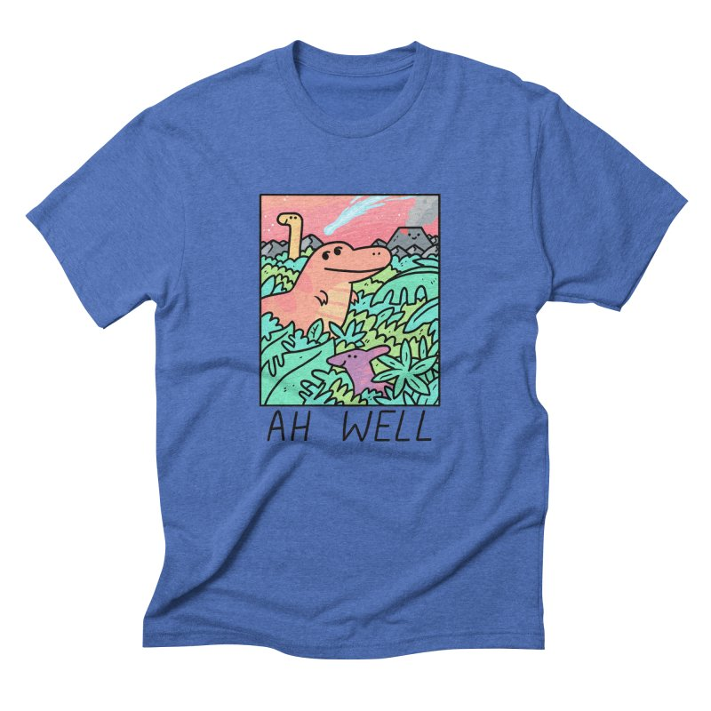AH WELL Men's Triblend T-Shirt by GOOD AND NICE SHIRTS
