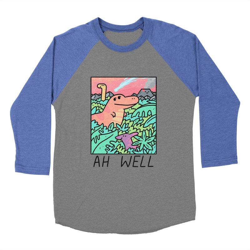 AH WELL Women's Baseball Triblend Longsleeve T-Shirt by GOOD AND NICE SHIRTS