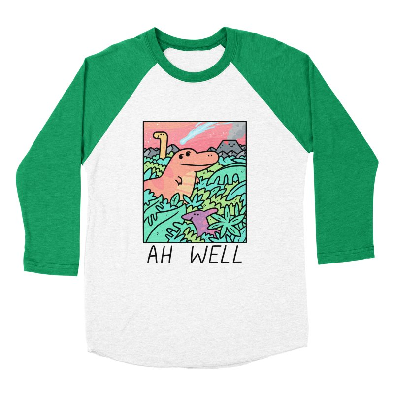 AH WELL Men's Baseball Triblend Longsleeve T-Shirt by GOOD AND NICE SHIRTS