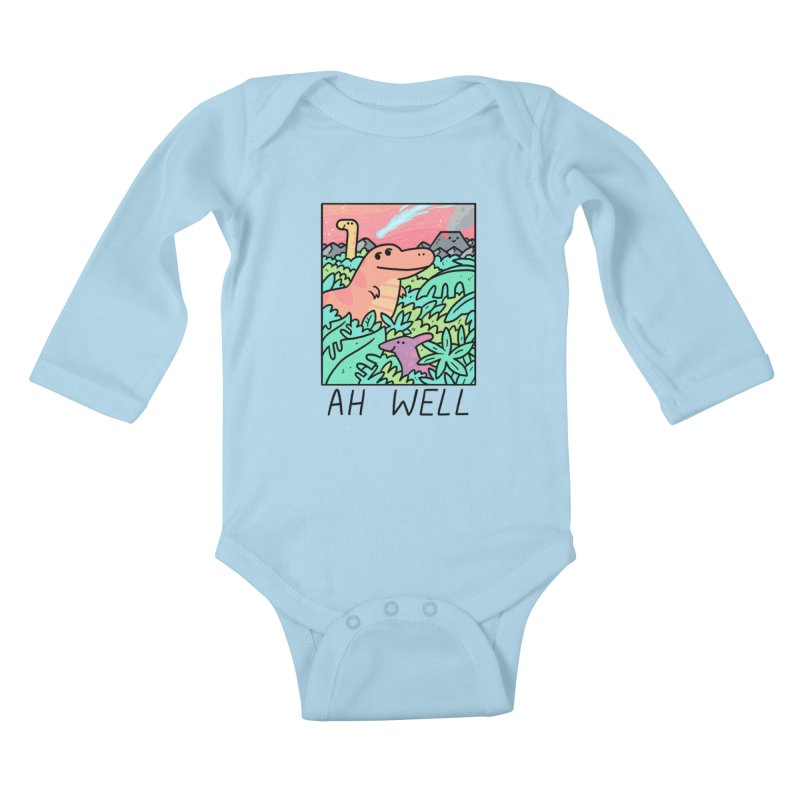 AH WELL Kids Baby Longsleeve Bodysuit by GOOD AND NICE SHIRTS