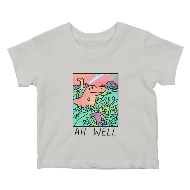 AH WELL Kids Baby T-Shirt by GOOD AND NICE SHIRTS