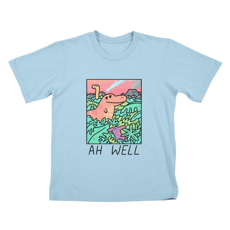 AH WELL Kids T-Shirt by GOOD AND NICE SHIRTS