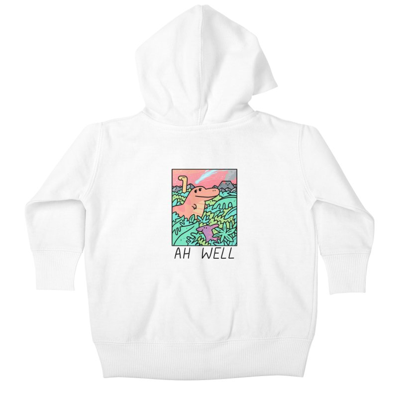 AH WELL Kids Baby Zip-Up Hoody by GOOD AND NICE SHIRTS