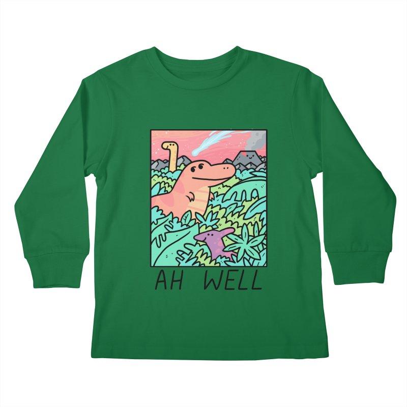 AH WELL Kids Longsleeve T-Shirt by GOOD AND NICE SHIRTS