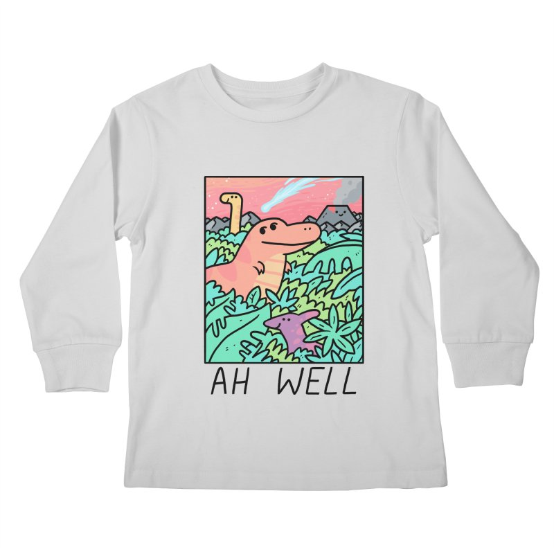 AH WELL Kids Longsleeve T-Shirt by GOOD AND NICE SHIRTS