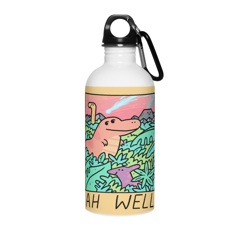 AH WELL Accessories Water Bottle by GOOD AND NICE SHIRTS