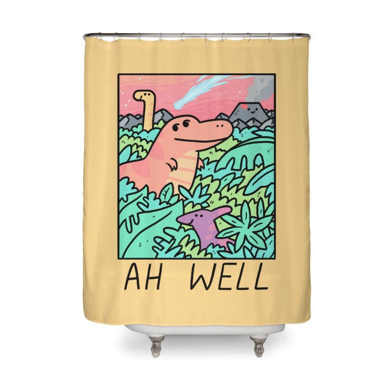 AH WELL Home Shower Curtain by GOOD AND NICE SHIRTS