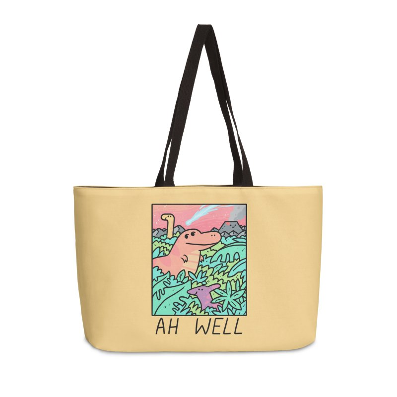 AH WELL Accessories Weekender Bag Bag by GOOD AND NICE SHIRTS