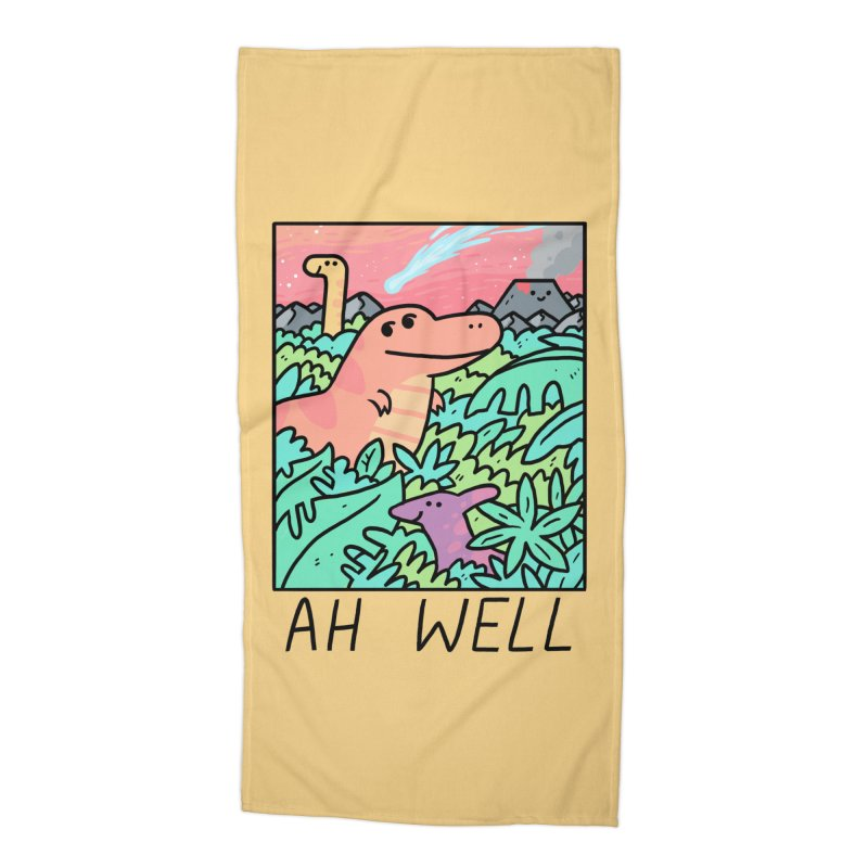AH WELL Accessories Beach Towel by GOOD AND NICE SHIRTS