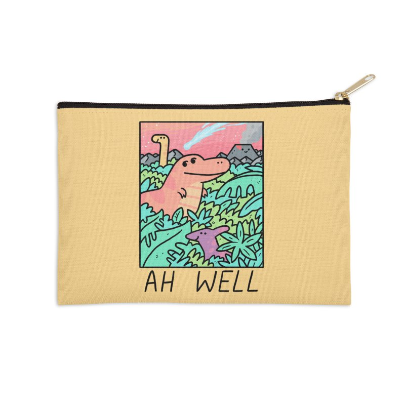 AH WELL Accessories Zip Pouch by GOOD AND NICE SHIRTS