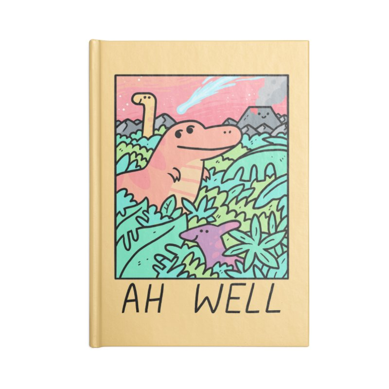 AH WELL Accessories Lined Journal Notebook by GOOD AND NICE SHIRTS