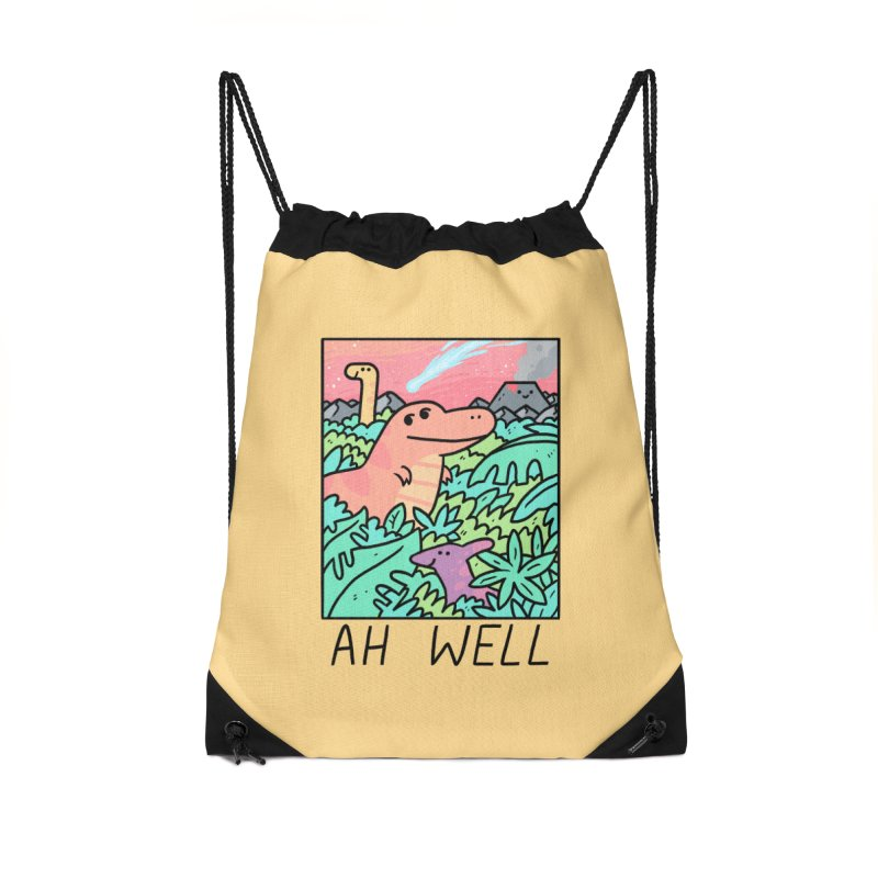 AH WELL Accessories Drawstring Bag Bag by GOOD AND NICE SHIRTS