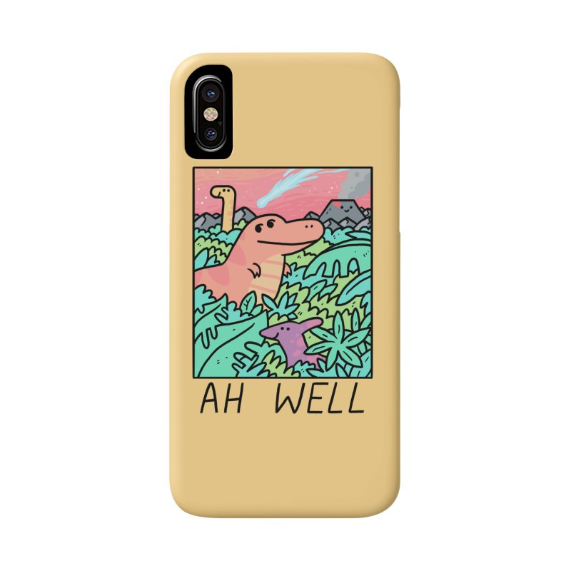 AH WELL Accessories Phone Case by GOOD AND NICE SHIRTS