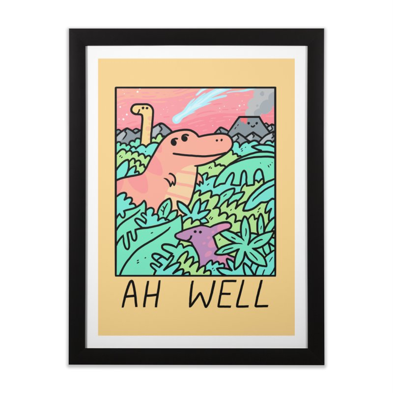 AH WELL Home Framed Fine Art Print by GOOD AND NICE SHIRTS