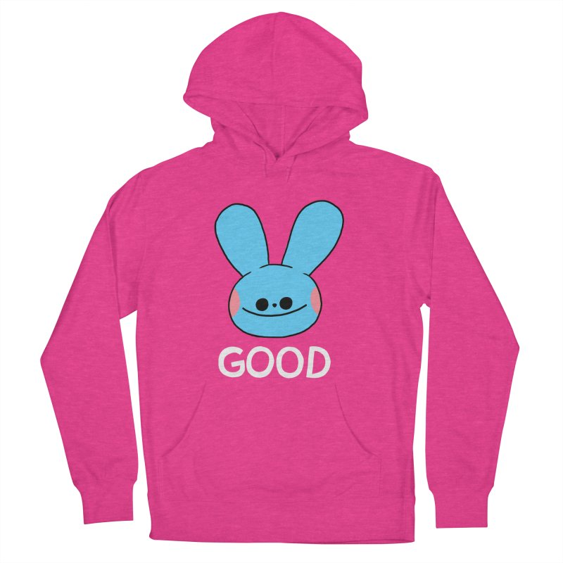 GOOD Women's French Terry Pullover Hoody by GOOD AND NICE SHIRTS