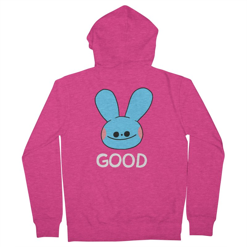 GOOD Women's Zip-Up Hoody by GOOD AND NICE SHIRTS