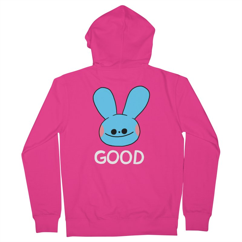 GOOD Men's Zip-Up Hoody by GOOD AND NICE SHIRTS