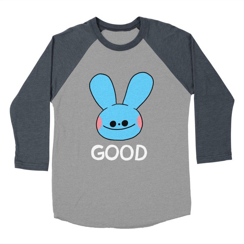 GOOD Women's Baseball Triblend Longsleeve T-Shirt by GOOD AND NICE SHIRTS
