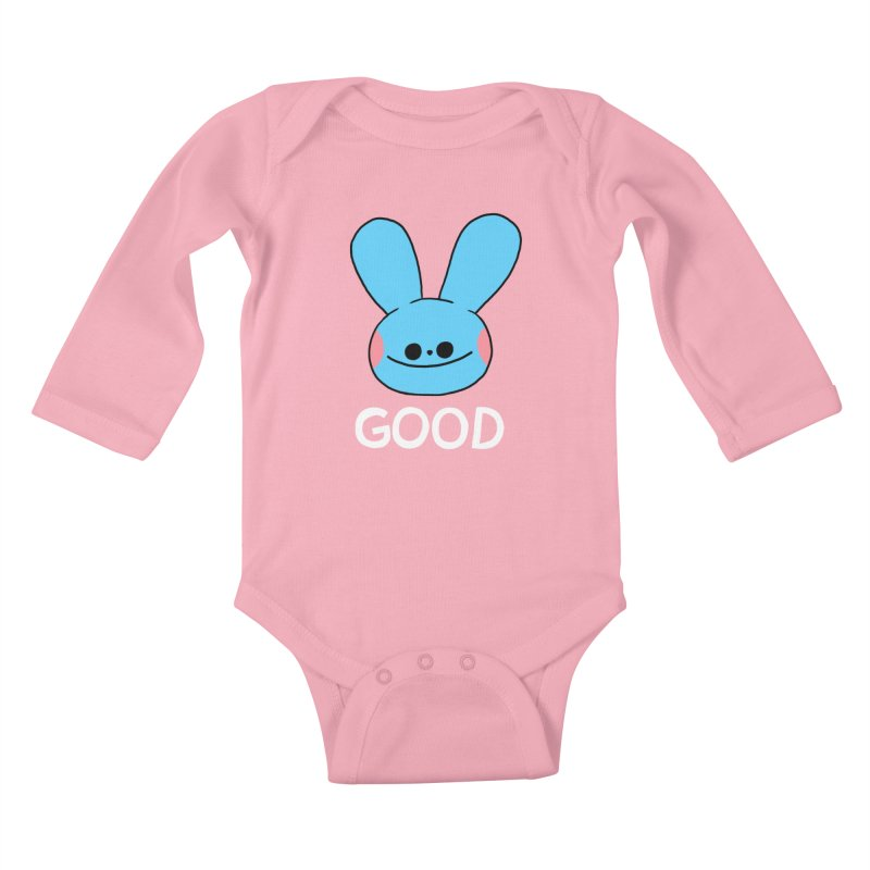 GOOD Kids Baby Longsleeve Bodysuit by GOOD AND NICE SHIRTS