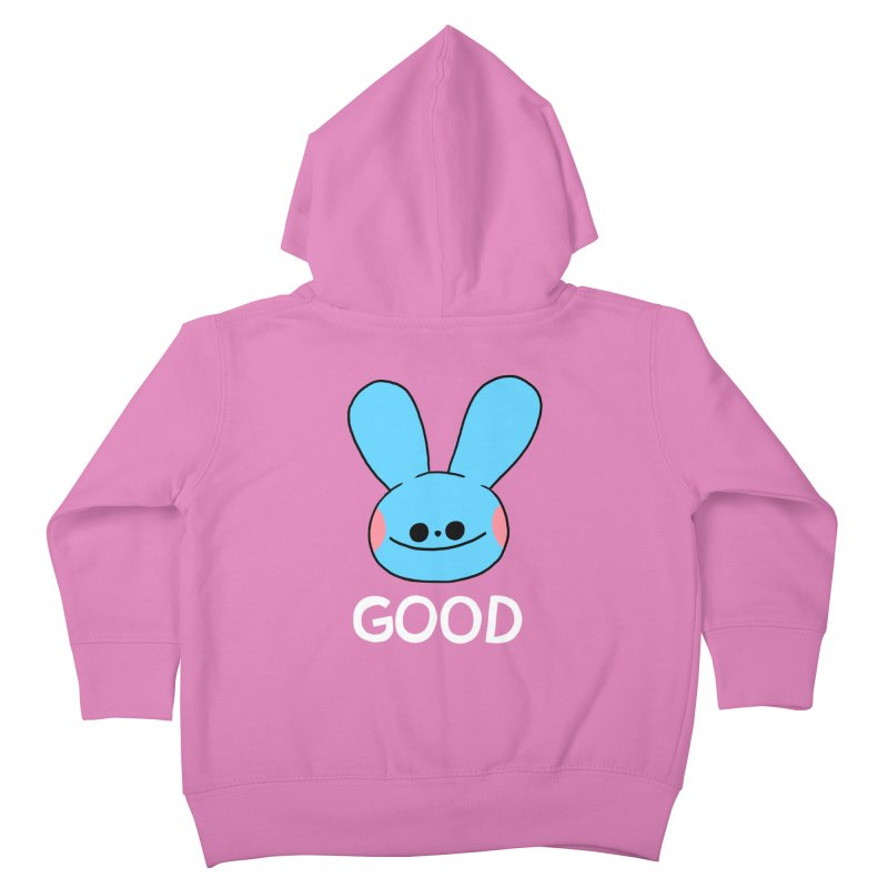 GOOD Kids Toddler Zip-Up Hoody by GOOD AND NICE SHIRTS