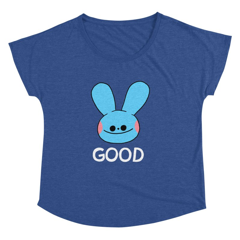 GOOD Women's Dolman Scoop Neck by GOOD AND NICE SHIRTS