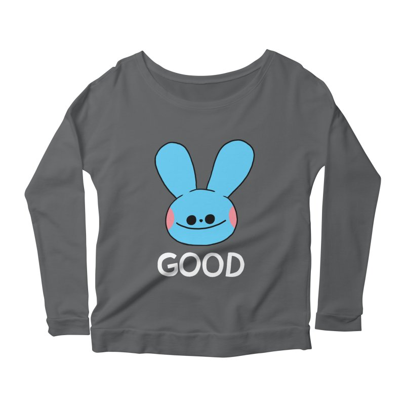 GOOD Women's Longsleeve Scoopneck  by GOOD AND NICE SHIRTS
