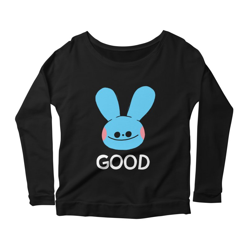 GOOD Women's Scoop Neck Longsleeve T-Shirt by GOOD AND NICE SHIRTS