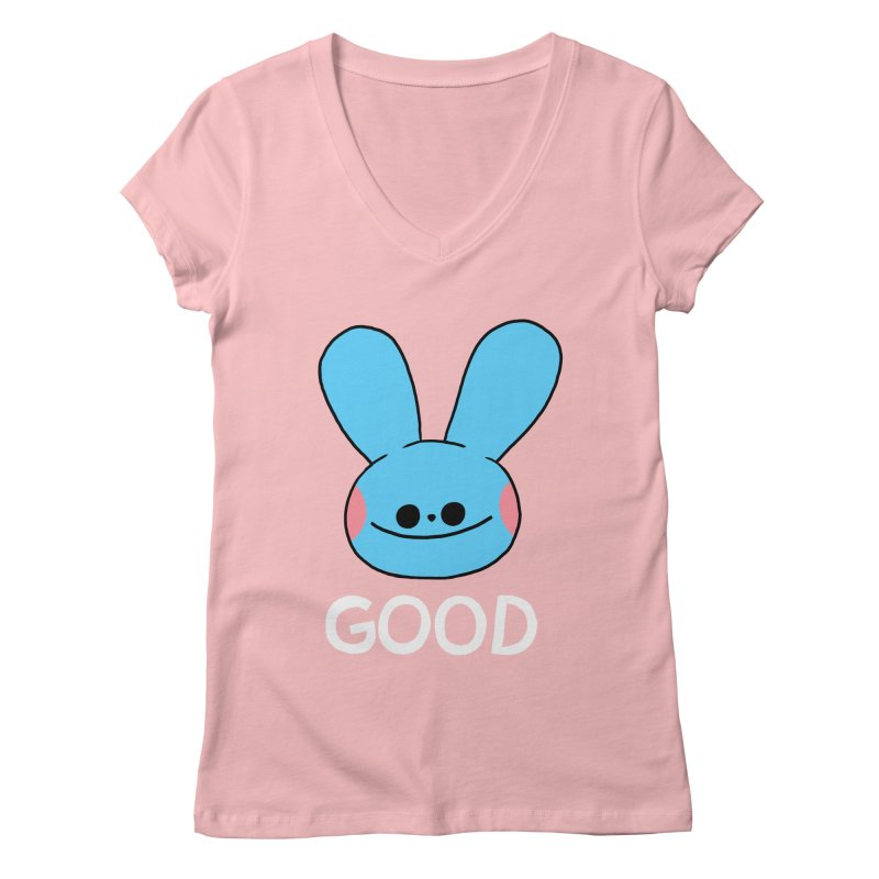 GOOD Women's Regular V-Neck by GOOD AND NICE SHIRTS