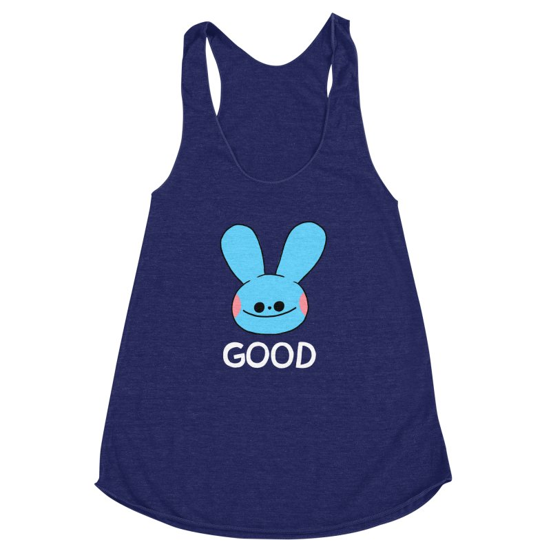 GOOD Women's Racerback Triblend Tank by GOOD AND NICE SHIRTS