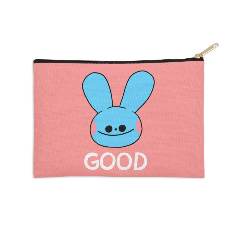 GOOD Accessories Zip Pouch by GOOD AND NICE SHIRTS