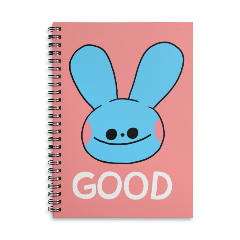 GOOD Accessories Lined Spiral Notebook by GOOD AND NICE SHIRTS
