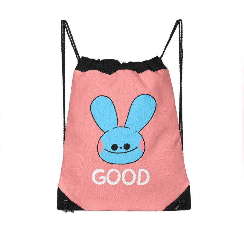 GOOD Accessories Drawstring Bag Bag by GOOD AND NICE SHIRTS