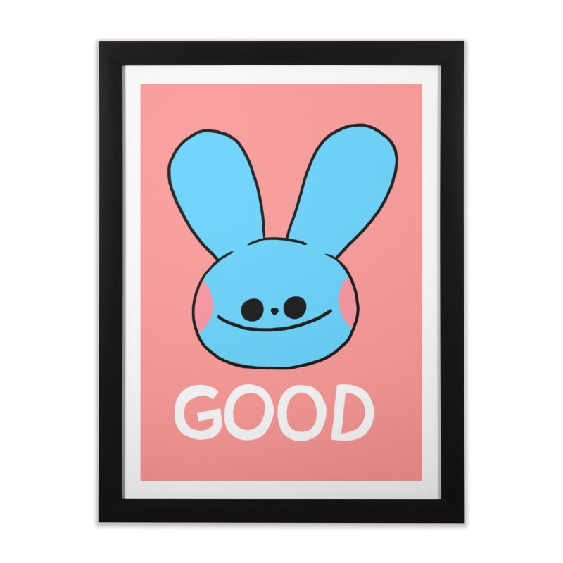 GOOD Home Framed Fine Art Print by GOOD AND NICE SHIRTS