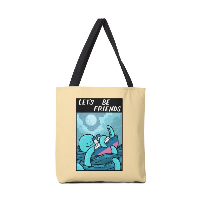 LET'S BE FRIENDS Accessories Bag by GOOD AND NICE SHIRTS