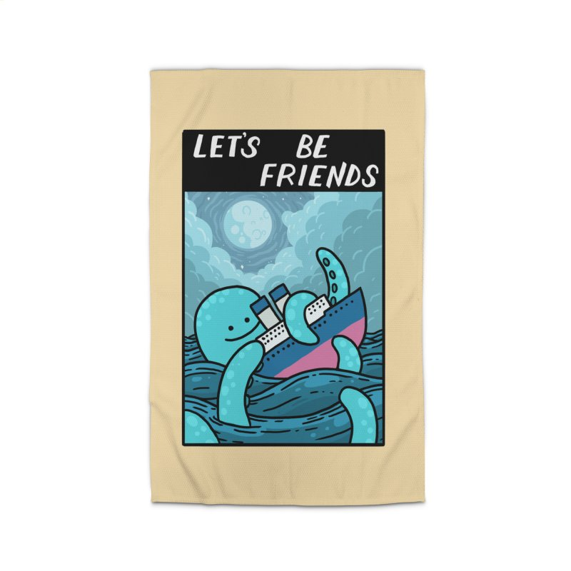 LET'S BE FRIENDS Home Rug by GOOD AND NICE SHIRTS