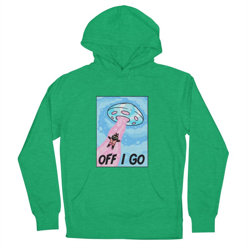 OFF I GO Women's French Terry Pullover Hoody by GOOD AND NICE SHIRTS